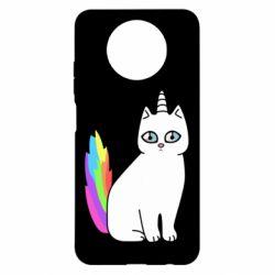 Чехол для Xiaomi Redmi Note 9 5G/Redmi Note 9T Cat Unicorn