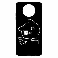 Чехол для Xiaomi Redmi Note 9 5G/Redmi Note 9T Cheerful kitten