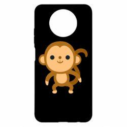 Чехол для Xiaomi Redmi Note 9 5G/Redmi Note 9T Colored monkey