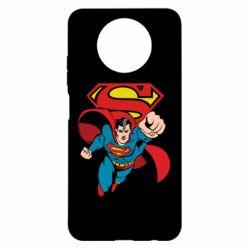 Чехол для Xiaomi Redmi Note 9 5G/Redmi Note 9T Comics Superman