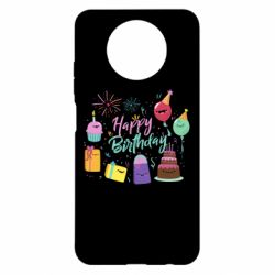 Чохол для Xiaomi Redmi Note 9 5G/Redmi Note 9T Happy Birthday