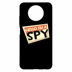 Чехол для Xiaomi Redmi Note 9 5G/Redmi Note 9T Hello i'm a spy