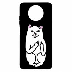 Чехол для Xiaomi Redmi Note 9 5G/Redmi Note 9T Кот с факом