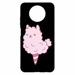 Чехол для Xiaomi Redmi Note 9 5G/Redmi Note 9T Llama Ice Cream