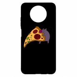 Чехол для Xiaomi Redmi Note 9 5G/Redmi Note 9T Love Pizza 2