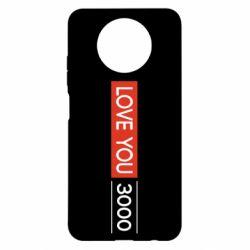 Чехол для Xiaomi Redmi Note 9 5G/Redmi Note 9T Love you 3000
