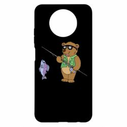 Чохол для Xiaomi Redmi Note 9 5G/Redmi Note 9T Ведмідь ловить рибу