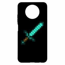 Чохол для Xiaomi Redmi Note 9 5G/Redmi Note 9T Minecraft меч