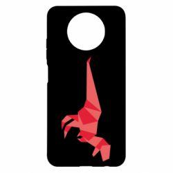 Чехол для Xiaomi Redmi Note 9 5G/Redmi Note 9T Origami dinosaur
