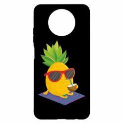 Чехол для Xiaomi Redmi Note 9 5G/Redmi Note 9T Pineapple with coconut