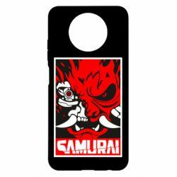 Чехол для Xiaomi Redmi Note 9 5G/Redmi Note 9T Poster samurai Cyberpunk