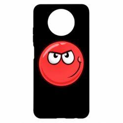 Чехол для Xiaomi Redmi Note 9 5G/Redmi Note 9T Red Ball game
