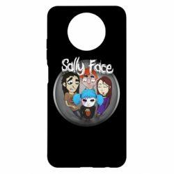 Чехол для Xiaomi Redmi Note 9 5G/Redmi Note 9T Sally face soundtrack