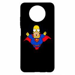 Чехол для Xiaomi Redmi Note 9 5G/Redmi Note 9T Simpson superman