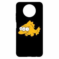 Чехол для Xiaomi Redmi Note 9 5G/Redmi Note 9T Simpsons three eyed fish