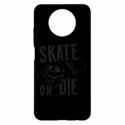 Чохол для Xiaomi Redmi Note 9 5G/Redmi Note 9T skull Skate or die