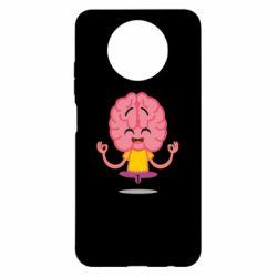 Чехол для Xiaomi Redmi Note 9 5G/Redmi Note 9T The brain meditates