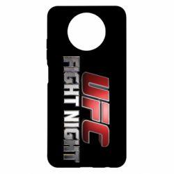 Чехол для Xiaomi Redmi Note 9 5G/Redmi Note 9T UFC Fight Night
