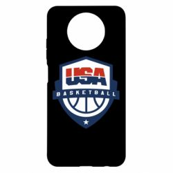 Чехол для Xiaomi Redmi Note 9 5G/Redmi Note 9T USA basketball