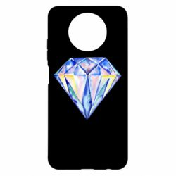 Чехол для Xiaomi Redmi Note 9 5G/Redmi Note 9T Watercolor diamond