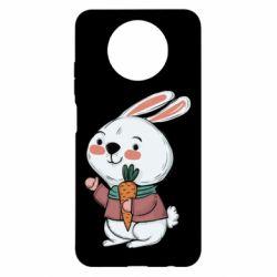 Чехол для Xiaomi Redmi Note 9 5G/Redmi Note 9T Winter bunny