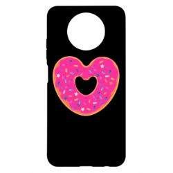 Чехол для Xiaomi Redmi Note 9 5G/Redmi Note 9T Я люблю пончик
