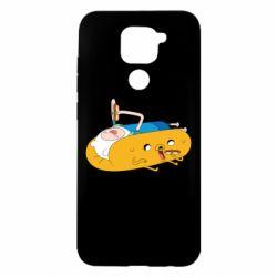 Чехол для Xiaomi Redmi Note 9/Redmi 10X Adventure time 4