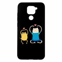 Чехол для Xiaomi Redmi Note 9/Redmi 10X Adventure time
