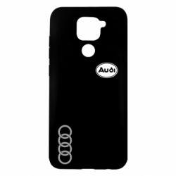 Чехол для Xiaomi Redmi Note 9/Redmi 10X Audi Logo