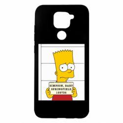 Чехол для Xiaomi Redmi Note 9/Redmi 10X Барт в тюряге