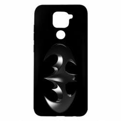 "Чехол для Xiaomi Redmi Note 9/Redmi 10X Batman ""3d Logo"""
