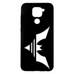 Чехол для Xiaomi Redmi Note 9/Redmi 10X Batman three line