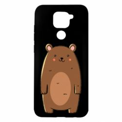 Чехол для Xiaomi Redmi Note 9/Redmi 10X Bear with a smile