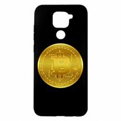 Чохол для Xiaomi Redmi Note 9/Redmi 10X Bitcoin coin