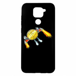 Чохол для Xiaomi Redmi Note 9/Redmi 10X Bitcoin into space