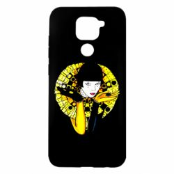 Чехол для Xiaomi Redmi Note 9/Redmi 10X Black and yellow clown