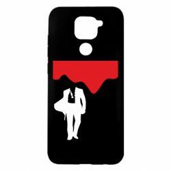 Чехол для Xiaomi Redmi Note 9/Redmi 10X Bond 007 minimalism