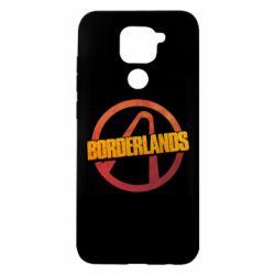 Чехол для Xiaomi Redmi Note 9/Redmi 10X Borderlands logotype
