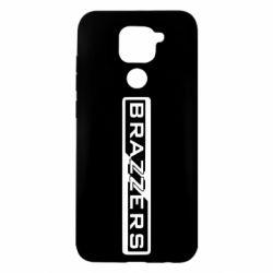Чехол для Xiaomi Redmi Note 9/Redmi 10X Brazzers Logo