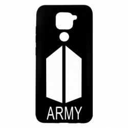 Чехол для Xiaomi Redmi Note 9/Redmi 10X Bts army