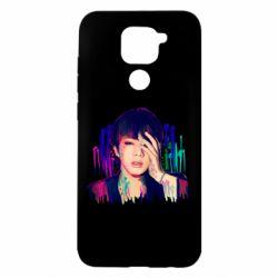 Чехол для Xiaomi Redmi Note 9/Redmi 10X Bts Jin