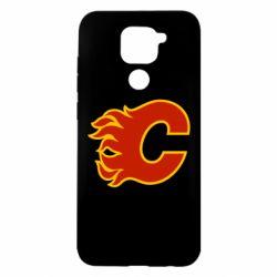 Чехол для Xiaomi Redmi Note 9/Redmi 10X Calgary Flames