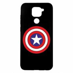 Чехол для Xiaomi Redmi Note 9/Redmi 10X Captain America