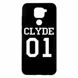 Чехол для Xiaomi Redmi Note 9/Redmi 10X Clyde 01
