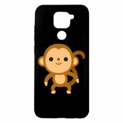 Чехол для Xiaomi Redmi Note 9/Redmi 10X Colored monkey