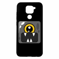 Чехол для Xiaomi Redmi Note 9/Redmi 10X Cute black boss