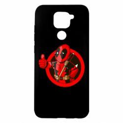 Чехол для Xiaomi Redmi Note 9/Redmi 10X Deadpool Fallout Boy
