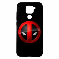 Чохол для Xiaomi Redmi Note 9/Redmi 10X Deadpool Logo