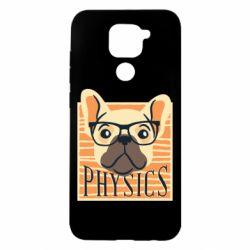 Чехол для Xiaomi Redmi Note 9/Redmi 10X Dog Physicist