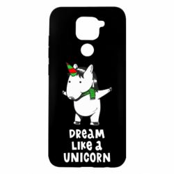 Чехол для Xiaomi Redmi Note 9/Redmi 10X Dream like a unicorn